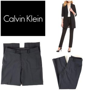 Calvin Klein Wool Blend Work Pants sz 8 Slacks